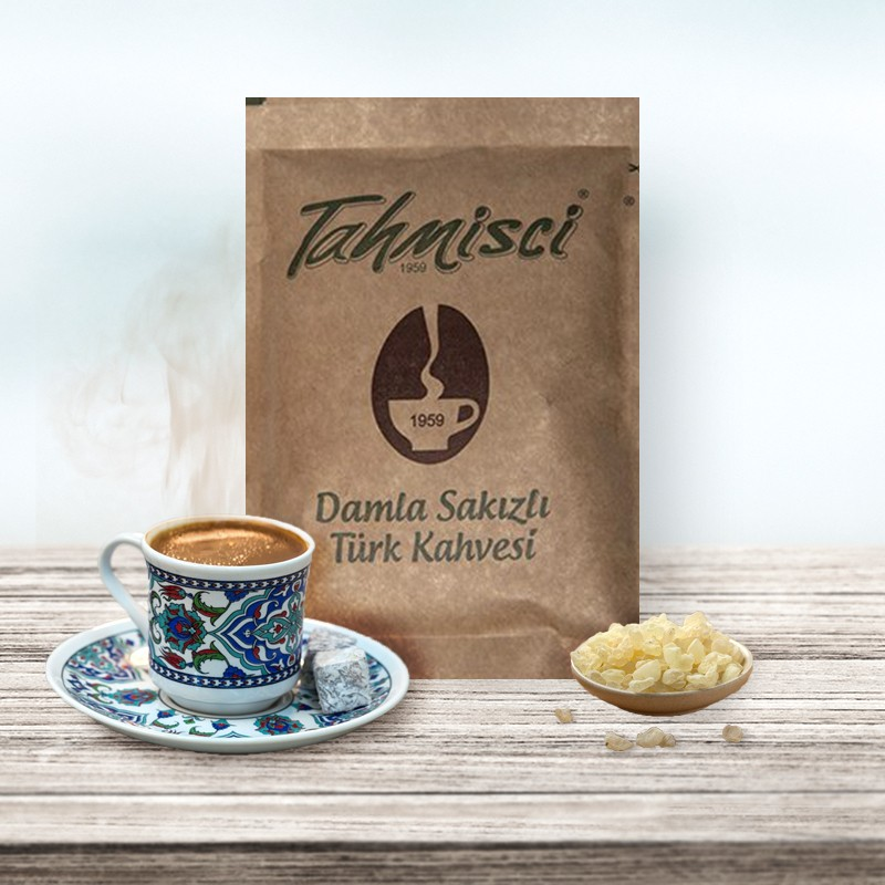 Türk Kahvesi Damla Sakızlı 100 Gr   Gurmelon