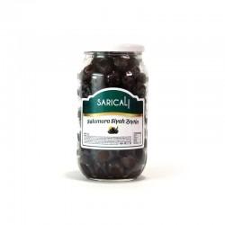 Sarıcalı Siyah Zeytin Salamura 700 Gr (201/230 Ad/Kg) | Gurmelon
