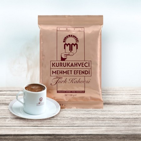 Kurukahveci Mehmet Efendi Türk Kahvesi 100 Gr   Gurmelon