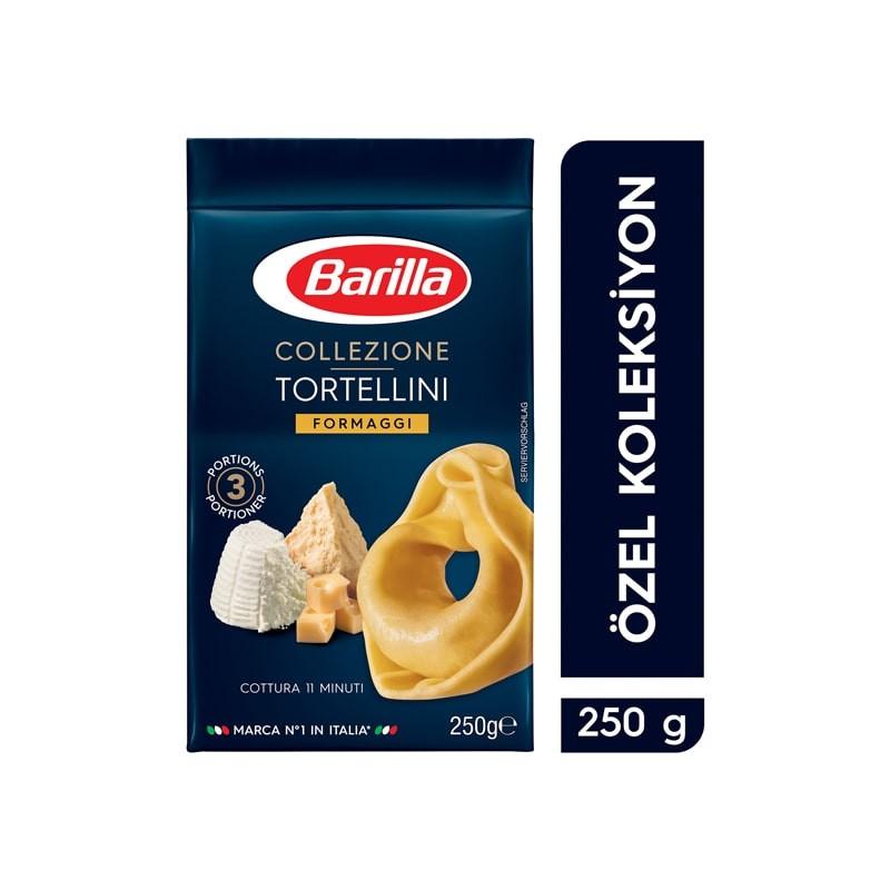 Barilla 3 Peynirli Dolgu Makarna (Tortellini Formaggi) 250 Gr | Gurmelon