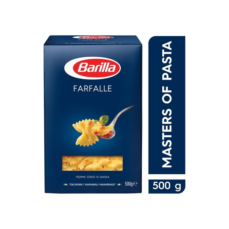 Barilla Kelebek Makarna (Farfalle) 500 Gr | Gurmelon