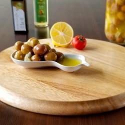 Sarıcalı Zeytinyağında Marineli Yeşil Zeytin 700 Gr| Gurmelon