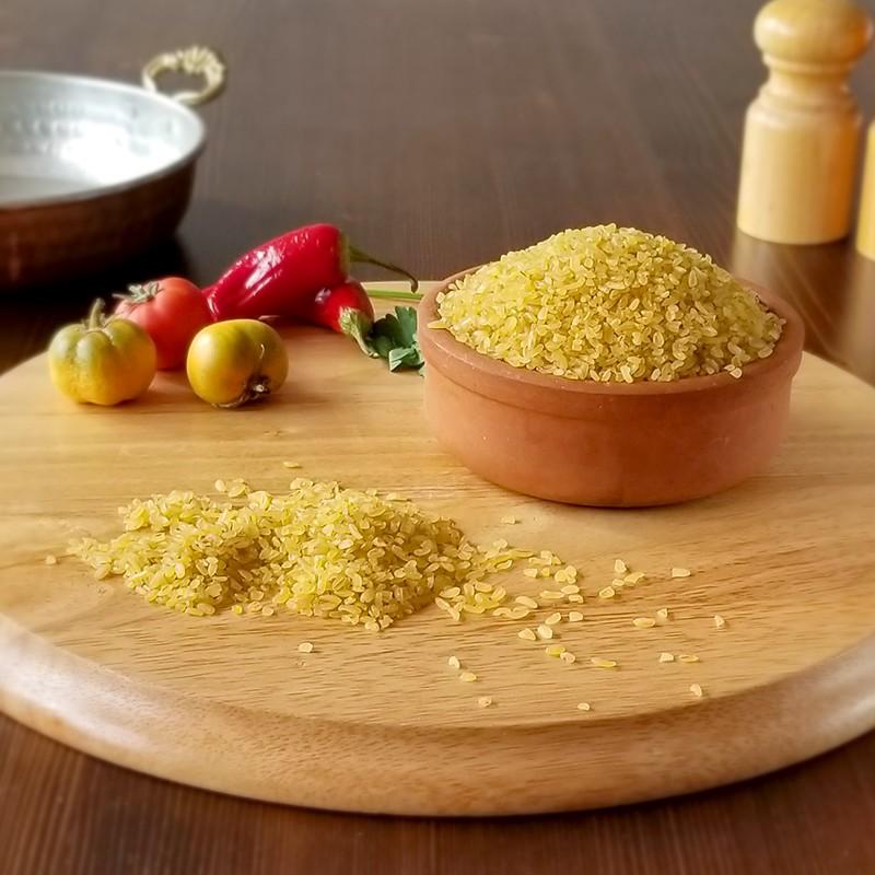 Sarıcalı Pilavlık Bulgur 1 Kg | Gurmelon