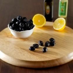 Doğal Fermente Kuru Sele Siyah Zeytin 650 Gr (Az Tuzlu) | Gurmelon