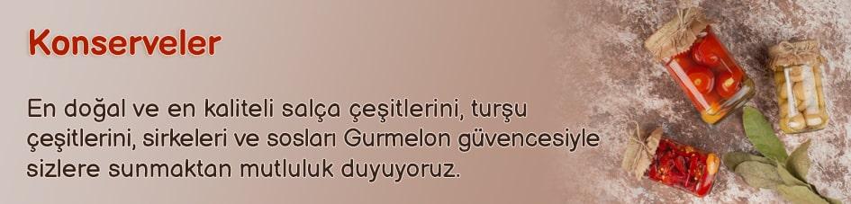 Konserveler - Gurmelon